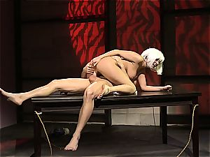 Charley chase is a platinum haired ravage damsel