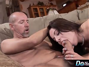 spouse observes wife take huge fuckpole