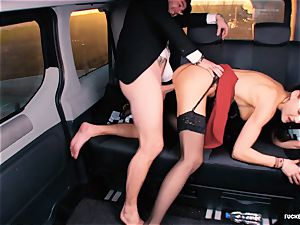 banged IN TRAFFIC - brit Tina Kay humped in the car