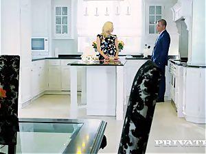Private.com - Brittany Bardot, ass-fuck in the kitchen