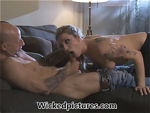 Rampant role play for Bailey Blue and a super-steamy man