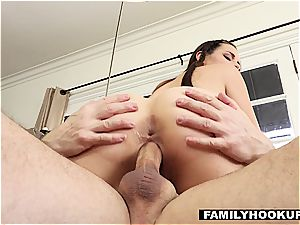 Cassidy Klein Gets insatiable With super-fucking-hot aged Uncle