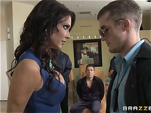 Criminals wife Jessica Jaymes torn up by a hot cop