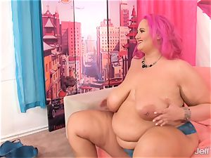 fat titted plus-size get her ginormous beaver pounded