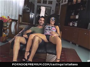 audition ALLA ITALIANA fledgling splatters in anal ravage