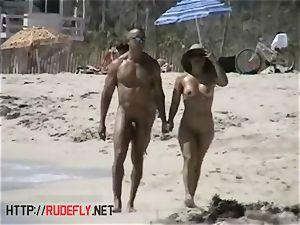 delightful nude beach voyeur spy webcam movie