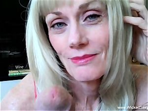 2 sausages For fledgling GILF mom