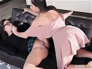 g/g slurping sorority with Abella Danger and Jojo kiss