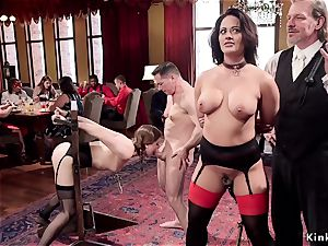 buxom cougar trained youthfull maid fucking