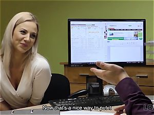 LOAN4K. sweetheart has to open up gams in office for solving her problems