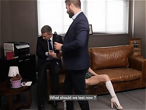 LETSDOEIT - professors Make schoolgirl splatter hard-core