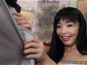 Marica Hase bbc buttfuck with Mandingo