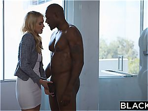 BLACKED Keira Nicole Takes Her first-ever giant black wood