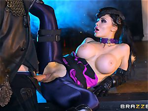 Aletta Ocean inserted with the monster spear of Danny D