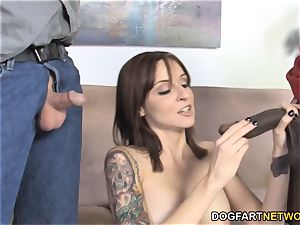 Paris Kennedy PicksUp BlackGuy With Her hotwife husband
