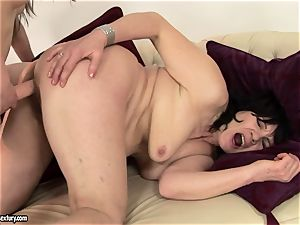 Anna Marie La Sante put rope on and nail a mature damsel