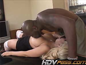 HDVPass multiracial bang-out with Bridgette B.