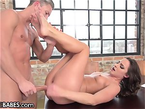 Amirah Adara porked as feet idolized and licked