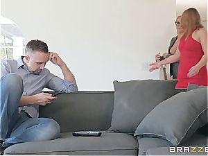 insatiable psychologist takes advantage of customers husband