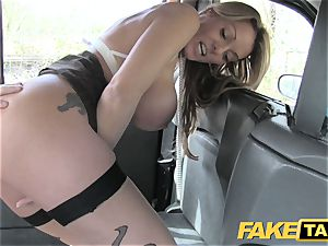 fake taxi beautiful Welsh milf with molten assets