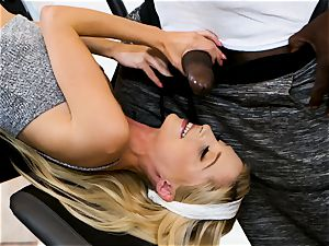 flip table and big black cock fun with Piper Perri