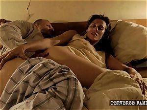 pervy step-sister attempting ass-fuck with her step-brother