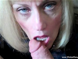 hotwife grannie Is Addicted To jizz