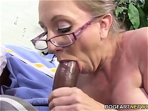 steaming mummy Jenna Covelli takes two BBC's