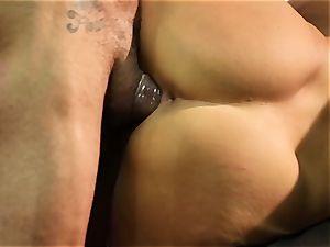 hump Bots group sex with beautiful chinese Asa Akira
