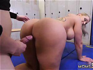ash-blonde getting screwed hd superior milf Gets A internal ejaculation After rectal fuck-fest